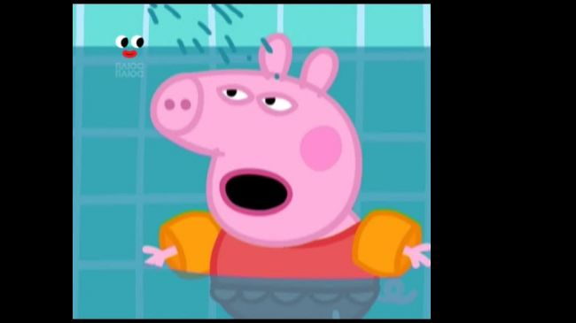 Свинка Пеппа 2 сезхон 72 серія. Плавання