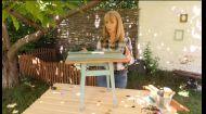 Робимо кавовий столик зі старого ослінчика - Затишно вдома