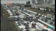 В США у штаті Айова на автомагістралі «Інтерстейт-80» зіткнулося 50 машин
