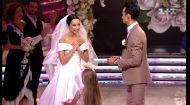 Екатерина Кухар и Александр Стоянов поженились в прямом эфире Танцев со звездами