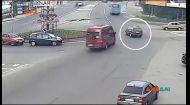У Тернополі автомобіль утік від свого власника