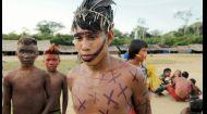 Мир наизнанку 10 сезон 27 выпуск. Бразилия. Праздник Яномами в честь поминок и рыбалка в джунглях