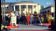 Валерия Гривко вместе с молодыми моделями пришла в гости к Сніданку