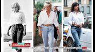 Як носити білу сорочку з джинсами та перевтілення молодої мами Юлії – правила моди