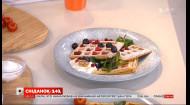 Готуємо домашні вафлі у прямому ефірі Сніданку з 1+1