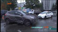 В столице на проспекте Гавела столкнулись два автомобиля
