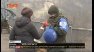 В Станице Луганской на отстроенном мосту рыщут переодетые кремлёвские оккупанты