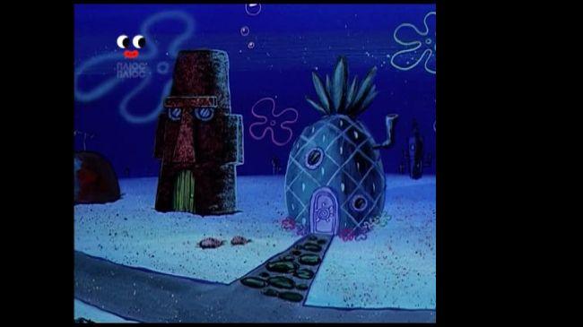 Губка Боб Квадратні Штани 1 сезон 15 серія. Тиха година. Піна