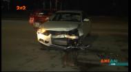 Гучний розворот на Дніпровській набережній: жінка розтрощила два автомобіля