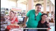 Міхеїл Саакашвілі відвідав знаменитий одеський ринок Привоз