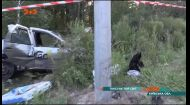 Автомобіль, що їхав зі столиці до Гостомеля, потрапив у нищівну ДТП