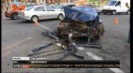 Масштабна аварія трапилася в середмісті столиці з водіями напідпитку