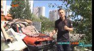 Мешканці столиці почали викидати старі автомобілі на смітник