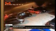 В Івано-Франківську елітний позашляховик потрощив 4 автомобілі