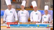 Молоді кулінари з Одеси демонструють свої вміння у прямому ефірі Сніданку з 1+1