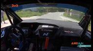 В Словении гонщик чуть не разбился на встречке