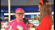 Колір настрою рожевий: Гарік Корогодський з'явився на кінопрем'єрі у екстравагантному вбранні