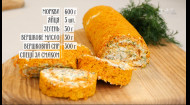 Морковный рулет с мягким сыром – Правила завтрака