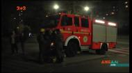В столице произошел масштабный пожар