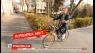 Рейд місцевих доріг та екстремальний експеримент у Тернополі - Перевірка міст