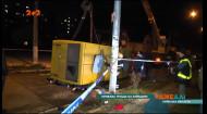 На Київщині маршрутний автобус зіткнувся із позашляховиком: двоє людей загинуло