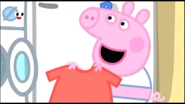 Свинка Пеппа 3 сезон 113 серія. Прання