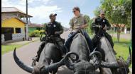 Как Дмитрий Комаров стал полицейским и патрулировал по городу на буйволе