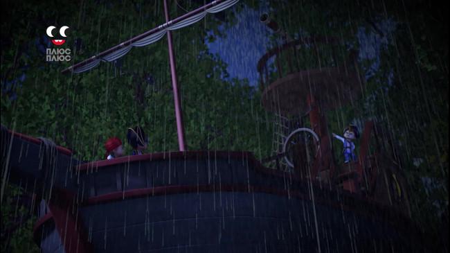 Елвін і бурундуки. Піратське життя