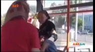 У харківському трамваї побилися бабусі