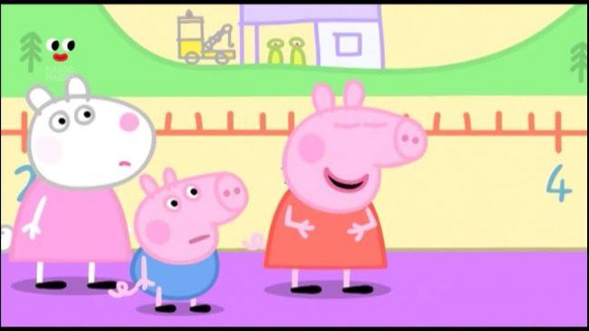 Свинка Пеппа 3 сезон 112 серія. Веселий забіг