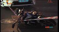 У столиці легковик збив мотоцикліста