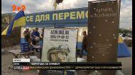 У Харкові активісти відстоюють волонтерський пункт, який збирає допомогу на передову
