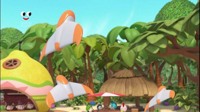 Летучие банановые бандиты / Праздник прохлады для Пенни