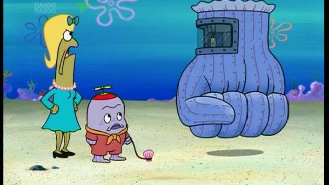 Губка Боб Квадратні Штани 5 сезон 97 серія. 20000 петті під водою. Битва за Бікіні Боттом