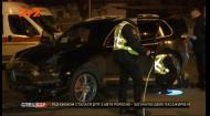 На перехресті у Бучі трапилася смертельна аварія: маршрутка перекинулася на людей