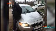 На Рівненщині поліція намагалася зупинити п'яного гонщика, а він врізався у стовп