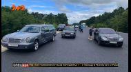 В катафалк с покойником врезался фольксваген в Винницкой области