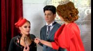 Як відбувається спілкування екс-подружжя Олени Шоптенко та Дмитра Дікусара за лаштунками