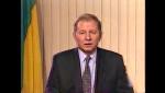 Леонід Кучма привітав український народ з 1997-м роком