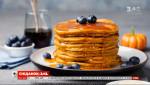 Вівсянкові панкейки з карамельним соусом за рецептом Євгена Клопотенка