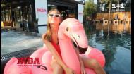 Вечеринка у бассейна с самыми известными звездами: бэкстейдж со съемок промо-ролика ЖВЛ