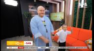 Самый забавный пухляш страны: Юрий Ткач пришел в студию Твоего Дня вместе с дочерью
