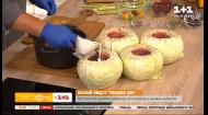 Постный борщ в блюде из капустного кочана от Дмитрия Борисова
