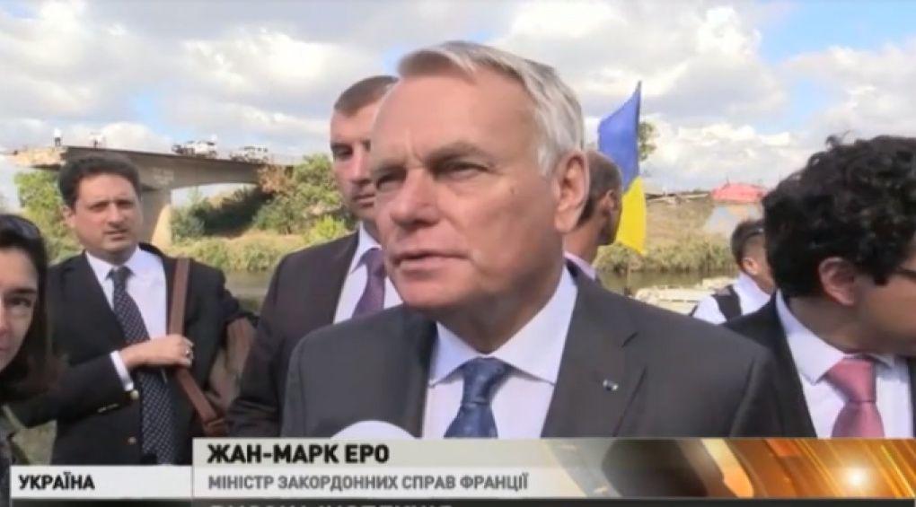 Міністри закордонних справ Німеччини та Франції завітали до України