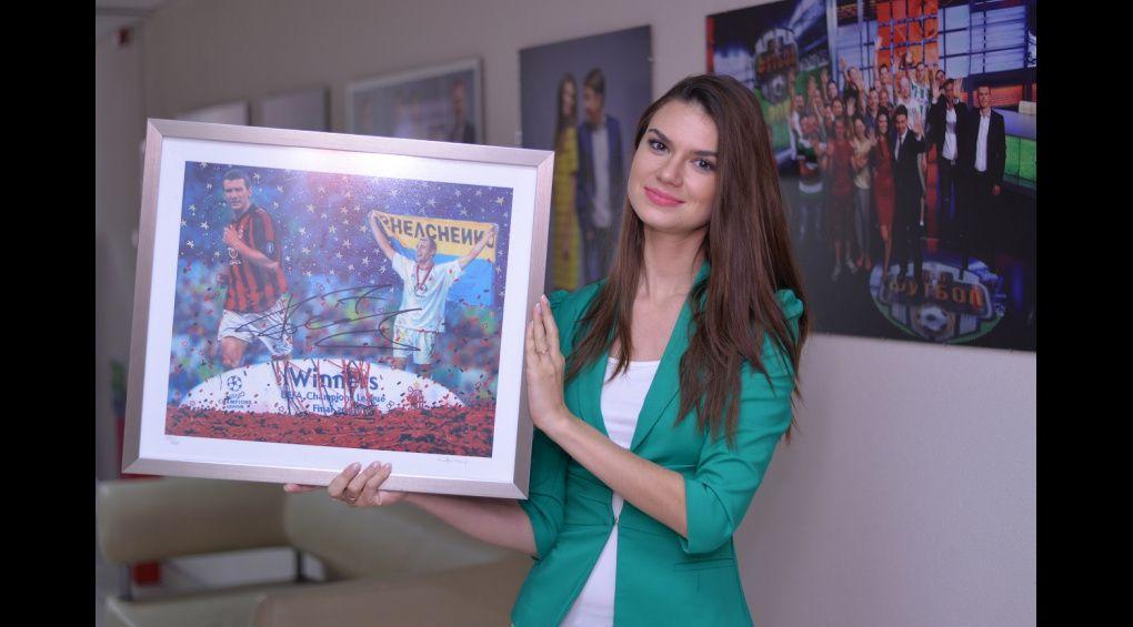 Картина Джанні Оттавіані з автографом Андрія Шевченка виставлена на благодійному аукціоні