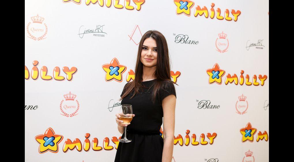 Олександра Лобода завітала на презентацію колекції від дружини футболіста київського Динамо
