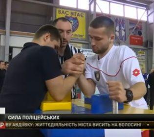 Рукоборці-патрульні поборолися за звання кращого в Україні