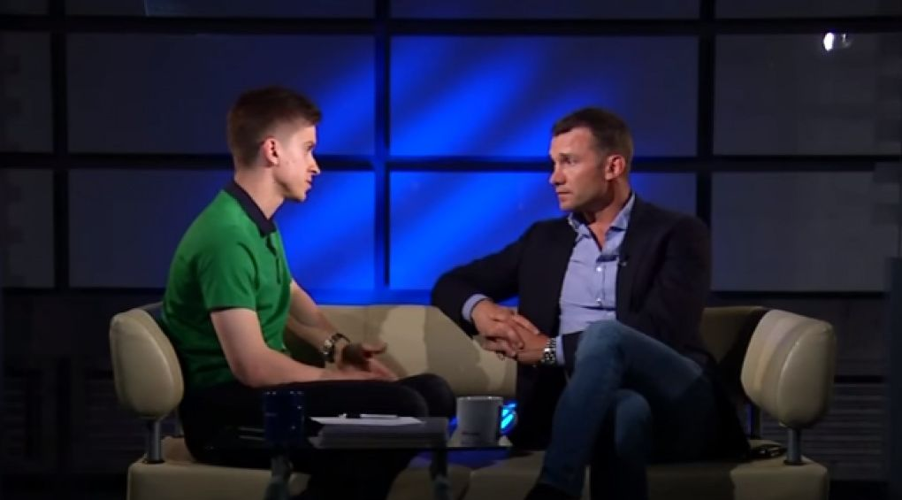Андрій Шевченко розповів #FootballHub, як молодим гравцям потрапити до збірної