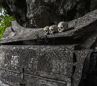 Що тривожить мерців висячого цвинтаря Сагади?