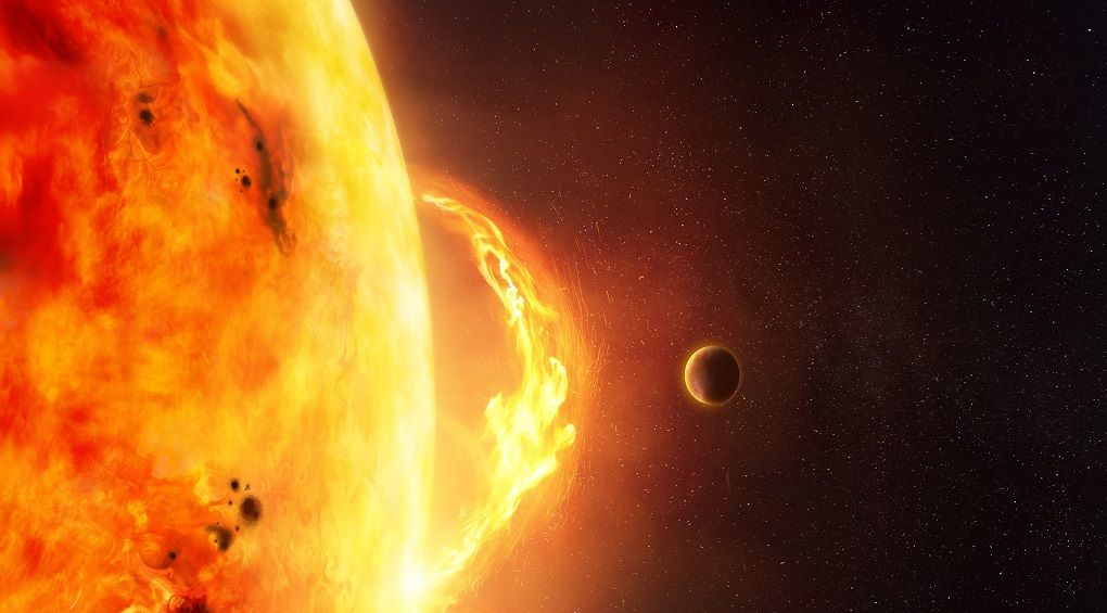 Потужні спалахи на Сонці зафіксували у вересні